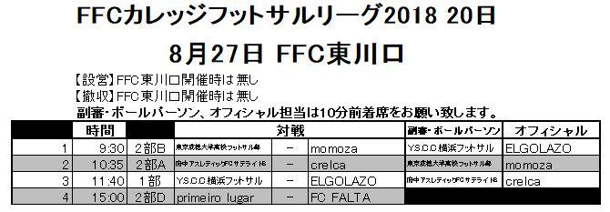 FFCカレッジフットサルリーグ
