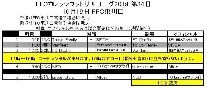 第34日10月19日FFC東川口更新.JPGのサムネール画像